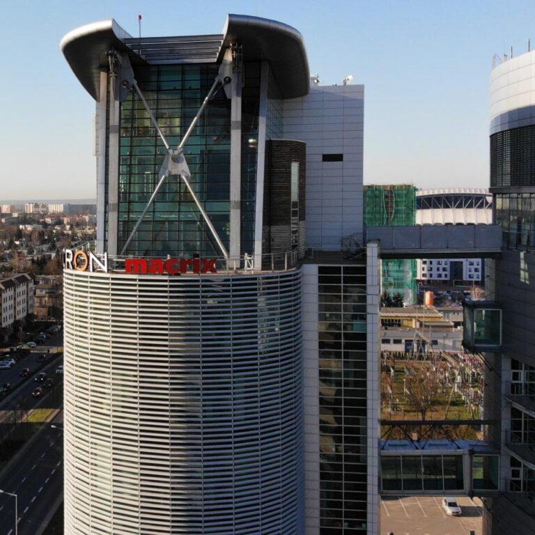Macrix Tower - Ansicht