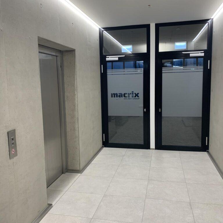 Neues Büro Macrix Germany